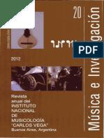 Etnomusicologia Didactica y Comunicacion