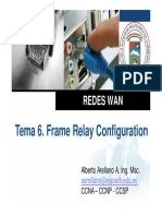 Clase 6. Frame Relay Configuration