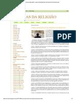 Ciências Da Religião_ Como Apresentar Um Projeto de Pesquisa