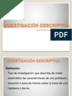 Investigacion.descrptiva.clase