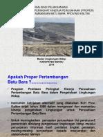 SOSIALISASI PROPER BATUBARA 2014.ppt
