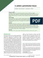 Vitamin d in Pediatric Gastrointestinal(1)