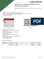 Data Sheet Model FP 115 Es