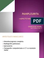 Pahipleurita Si Mezoteliom Paraclinic