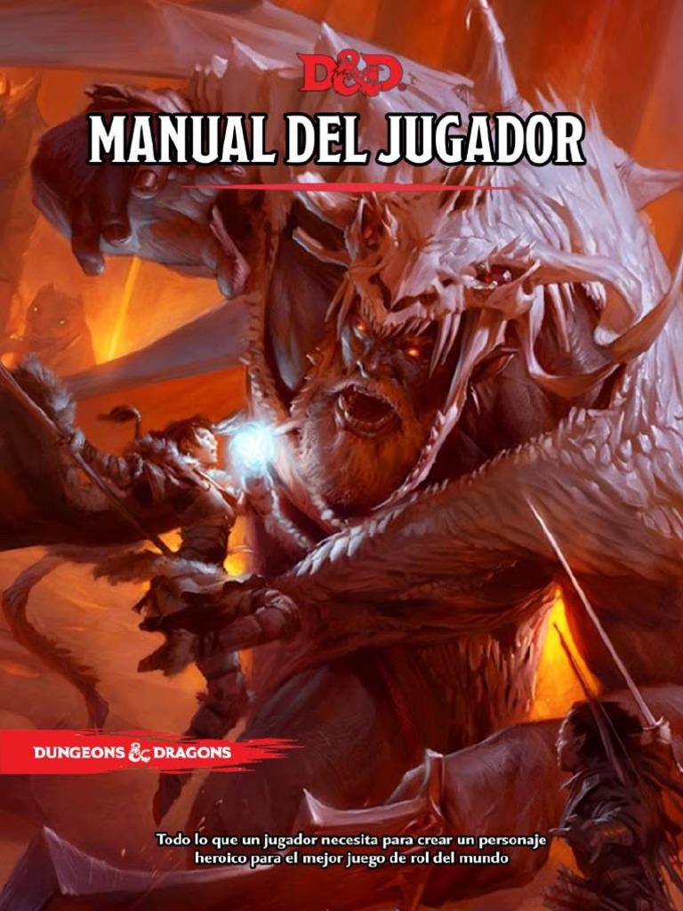 manual de jugador d&d 5 español pdf