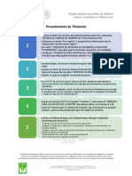 PROCEDIMIENTO DE TITULACION DEL TECNOLOGICO NACIONAL DE MEXICO