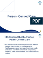 3. Person Centred Care With Voice Over