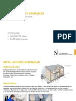 Exposición - Instalaciones Sanitarias de Agua y Desagüe.pptx