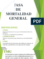 TASA de Mortalidad General GOOD