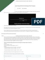 Cara Menghitung Panjang Minimal Sambungan Besi Tulangan - KITASIPIL