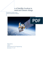 Application of satellite Geodesy
