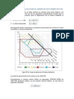 Algoritmo de Cálculo Para El Diseño de Una Turbina Pelton