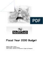 Fiscal Year 2030 Budget
