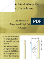 Magnetic Field Along the Axis of a Solenoid (2).ppt