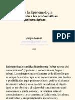 Presentacion. Qué Es La Epistemología -Introducción...