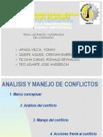 Analisis y Manejo de Conflicto