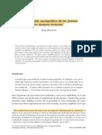 lectura 1 La integración sociopolítica de los jóvenes (20 Hojas)