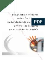 Diagnóstico sobre todos los tipos y modalidades de violencia contra las mujeres