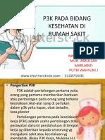 P3K PADA BIDANG KESEHATAN DI RUMAH SAKIT.pptx