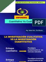 6. ENFOQUE Cuantitativo vs Cualitativo