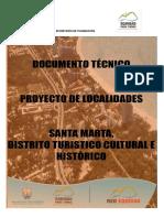Delimitación Territorio Del Municipio de Santa Marta