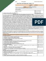 3M PSU Guía 3. Ejercicio Plan de Redacción Alumnos