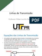 1 - Linhas de Transmissão - 1