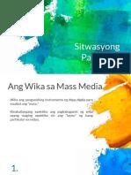 Sitwasyong-Pangwika