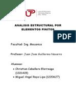 Analisis Estructural Por Elementos Finitos 1