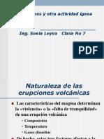 Los Volcanes y Otras Actividades Igneas