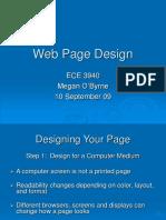 ECE3940 Lect WebDesign
