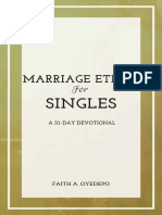 Marriage Ethics for Singles[1]