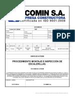 GG818-2014-PO056 Montaje E Inspección de Escalerillas
