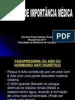 Bioquimica-Aula Peptideos Importantes e Proteinas 2017