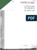 27. Apuntes de Obra I - Construcciones para arquitectos.pdf