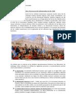 Guía Sobre El Proceso de Independencia de Chile