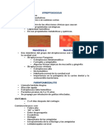 Streptococcus y Faringoamigdalitis