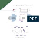 Pembuatan Ukuran Sesuai Fungsi Dan Pandangan Utama Gambar Teknik Otomotif