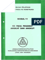 Modul 11 - K3 Pada Pesawat Angkat dan Angkut.pdf