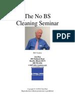 Cleaning Seminar