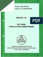 Modul 12 -  K3 Pada Peralatan Konstruksi.pdf
