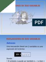 Inecuaciones Variables