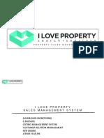 Widyanto 081218616908 i Love Property Sales Management System Presentation