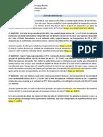 Lista de Exercícios 02- Transferência de Calor- COM GABARITO