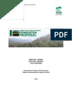 Template Word Format Proposal Lengkap 20161