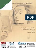 Caderno de Resumos ABRAPLIP 2017