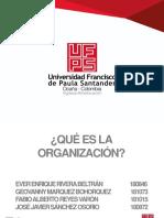 Exposion de Psoclogia Organizacional (Que Es La Organización)