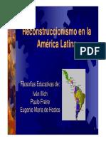 Comunidad Emagister 1404 Reconstruccionismo en La America Latina