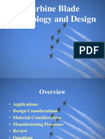 Turbine Blade Technology and Design