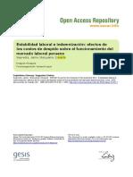 Ssoar-2000-Saavedra Et Al-Estabilidad Laboral e Indemnizacion Efectos